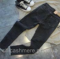 Женские узкие Джинсы skinny черные, серо-черные XL