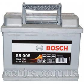 Автомобильный аккумулятор Bosch 6CT-63 R+ S5 (S5 005)