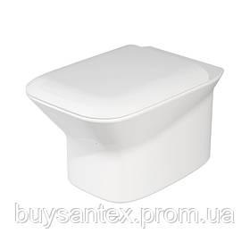 Унитаз Azzurra Prua PRU100B1/SOSK shiny white