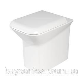 Унитаз Azzurra Prua PRU100B1/P shiny white
