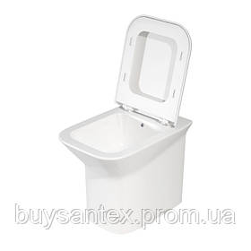 Унитаз Azzurra Prua PRU100EB1/TR shiny white