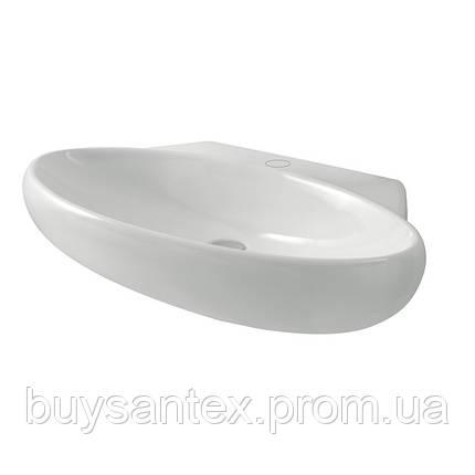 Раковина Azzurra Clas+ CLA200B1/90 shiny white, фото 2