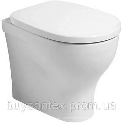 Унитаз Azzurra Pratica PRA110B1/BI shiny white, фото 2