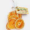 Фруктовые апельсиновые чипсы 30 грамм, заменяют 270-300 г свежих апельсин