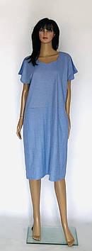 Платье женское летние стречь лен
