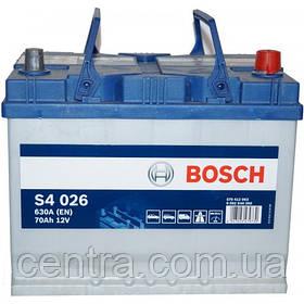 Автомобильный аккумулятор Bosch 6CT-70S4 (S4 026) Азия