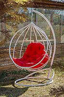 """Подвесное кресло-кокон """"Адель"""" белое"""