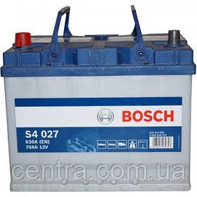 Автомобильный аккумулятор Bosch 6CT-70S4 (S4 027) Азия