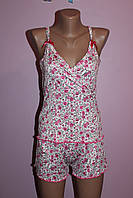 Пижама майка с шортами Бамбук, фото 1
