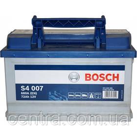 Автомобильный аккумулятор Bosch 6CT-72S4 (S4 007)
