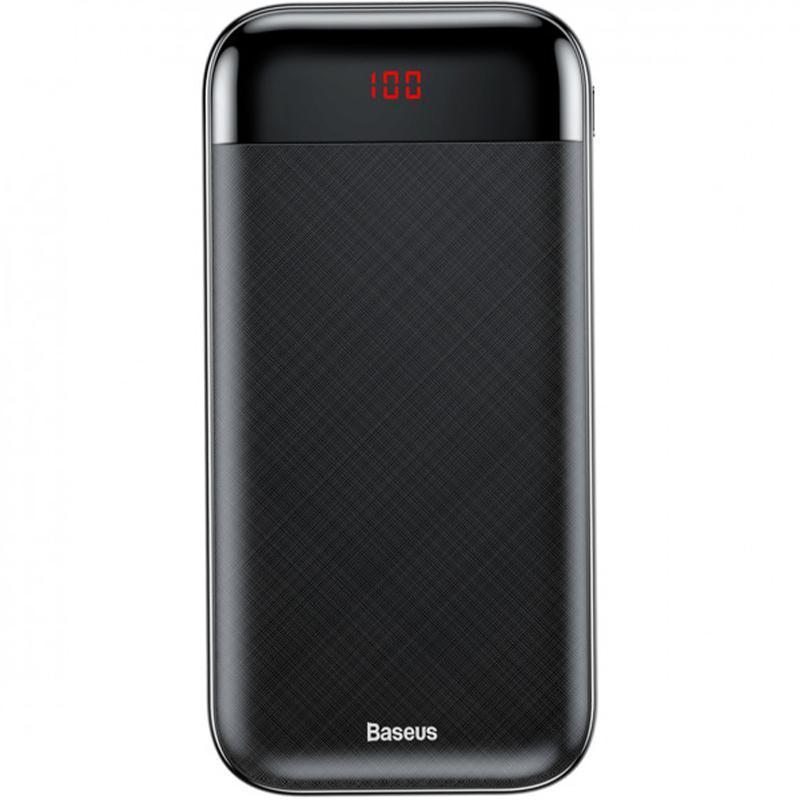 Дополнительная батарея Baseus Mini Cu Digital LCD (20000mAh) Black (PPALL-CKU01)