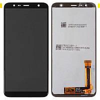 LCD Samsung J415/J4 Plus-2018/J610/J6 Plus-2018 + touch Black (100% Service OR)
