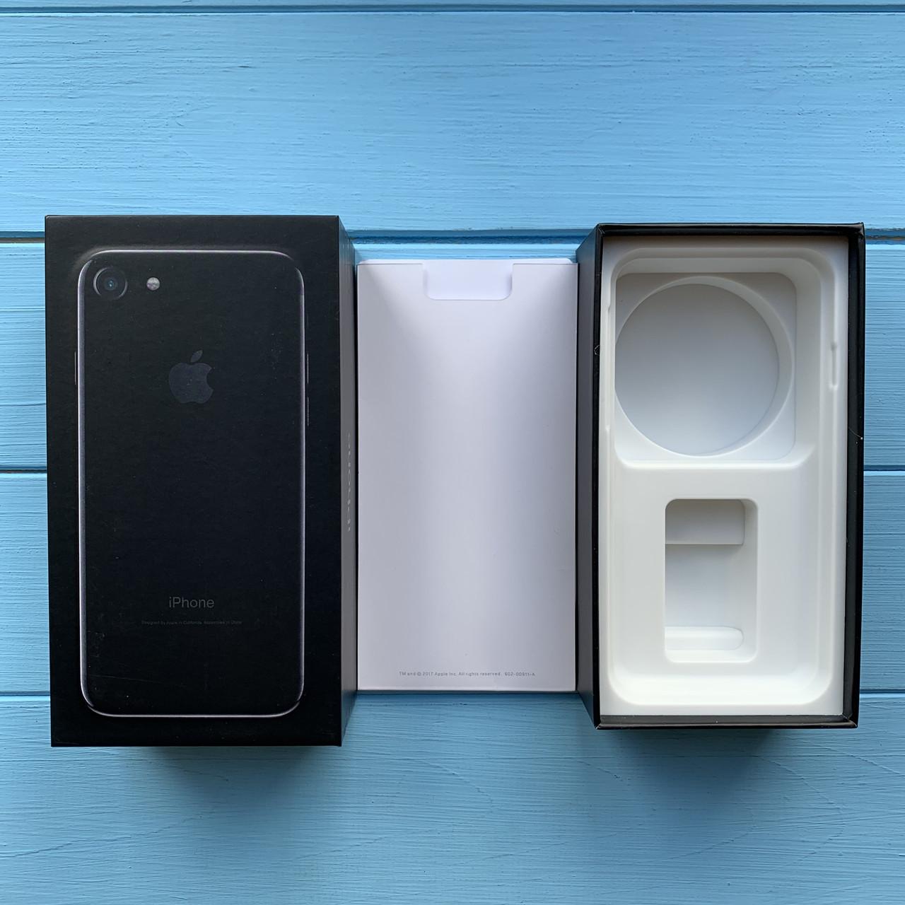 Коробка Apple iPhone 7 Jet Black