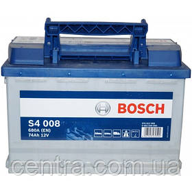 Автомобильный аккумулятор Bosch 6CT-74S4 (S4 008)