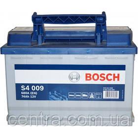 Автомобильный аккумулятор Bosch 6CT-74S4 (S4 009)