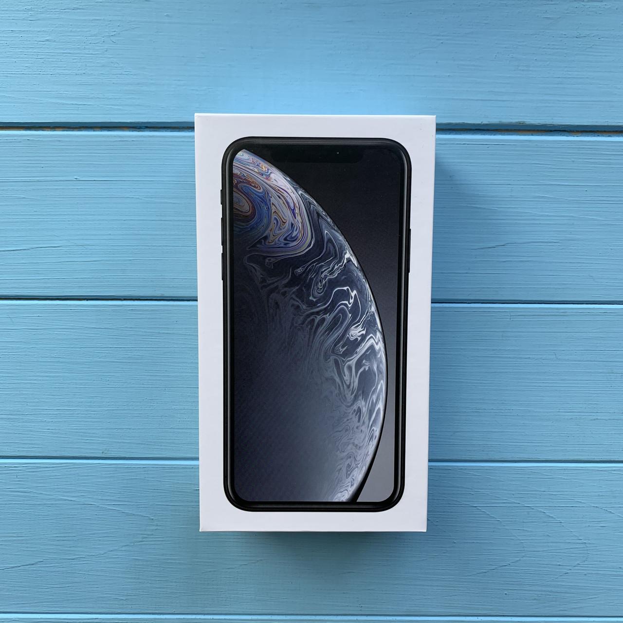 Коробка Apple iPhone XR Black