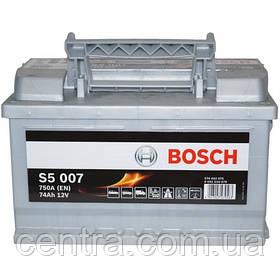 Автомобильный аккумулятор Bosch 6CT-74S5 (S5 007)