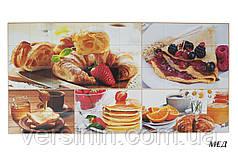 Листовые декоративные панели  ПВХ Мёд