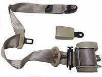 Ремни безопасности трехточечные (инерционные, автоматические) бежевые