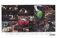 Листовые декоративные панели  ПВХ Кофе