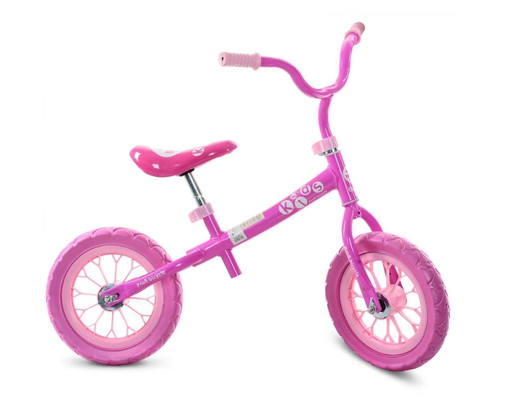 Беговел Profi Kids M 3255-1 Розовый Детский беговел Беговел для девочки
