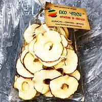 Фруктовые яблочные чипсы 25 грамм, заменяют 220-250 г свежих яблок, фото 1