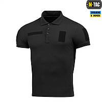 Поло тактичне M-Tac Polyester black, фото 1