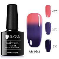 Термо гель-лак для ногтей маникюра термолак 7.5мл UR Sugar, UR-05/2