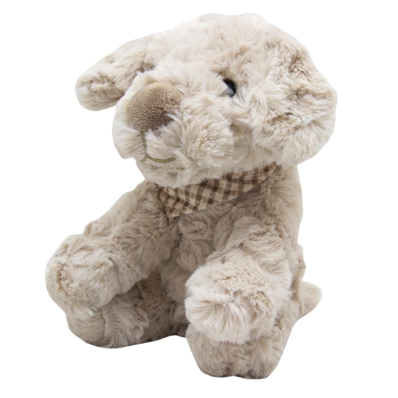 Мягкая игрушка Лохматый щенок ,бежевый 18 см (X1626418-1)