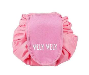 Косметичка-органайзер Vely Vely | Органайзер-мешок для косметики | Розовый