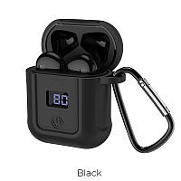 Наушники Stereo Bluetooth гарнитура Hoco S11 Melody AirPods Black, фото 1