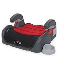 Детское автокресло-бустер от 5 до 12лет. с подлокотником и подстаканником RORO EL CAMINO 4 цвета
