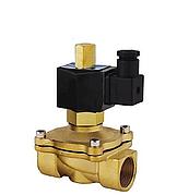 """Клапан электромагнитный Aqua World KL-NX-0102 DN32 1 1/4"""" 220В нормально закрытый"""