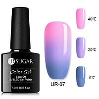Термо гель-лак для ногтей маникюра термолак 7.5мл UR Sugar, UR-07