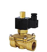 """Клапан электромагнитный Aqua World KL-NX-0102 DN40 1 1/2"""" 220В нормально закрытый"""