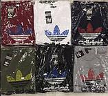 Мужская футболка Adidas синяя  5002-11, фото 2