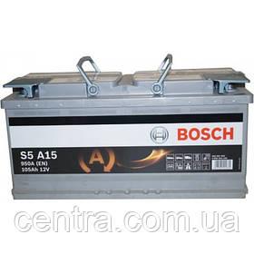 Автомобильный аккумулятор Bosch 6СТ-105 (S5 A15) AGM 0092S5A150