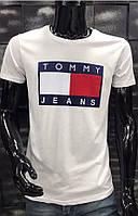Мужская футболка TH серая 5002-110