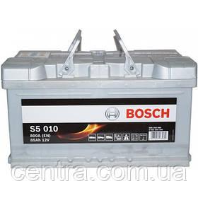 Автомобильный аккумулятор Bosch 6CT-85(S5 011) 0092S50110