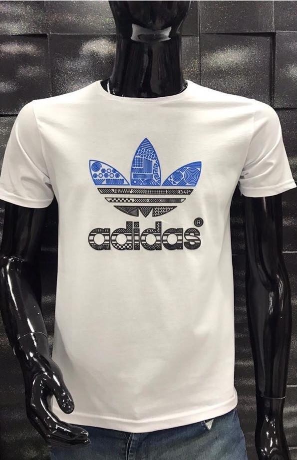 Чоловіча футболка Adidas біла 5002-9