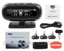 Система контроля давления в шинах TPMS N02 +  встраиваемые внутренние датчики колес