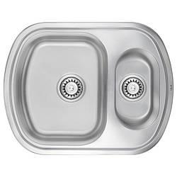 Кухонная мойка ULA 7703 U Satin с доп чашей