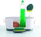 Органайзер на раковину Sink Caddy 7028 | Кухонный органайзер для мойки, фото 4