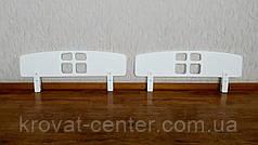 """Белый защитный барьер для кровати от производителя """"Домик"""" 100 см., фото 3"""