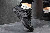 Мужские кроссовки Nike Air Presto TP QS (черные) плотный текстиль (41,43,45)