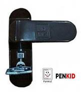 Блокіратор відкривання Penkid з замком, чорний.