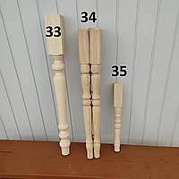 Деревянные ножки для стола и табуреток