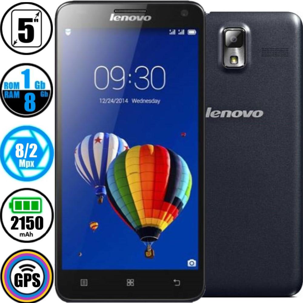 Смартфон Lenovo S580 (1/8Gb) Black