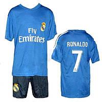 Футбольная форма  ФК Реал Мадрид RONALDO (6-14 лет)