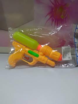 Водный пистолет детский желтый